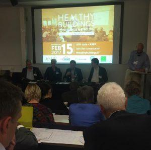 cTrap deltar i konferens mot sjuka hus och för bättre inomhusmiljö